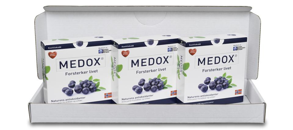 3-pakning Medox