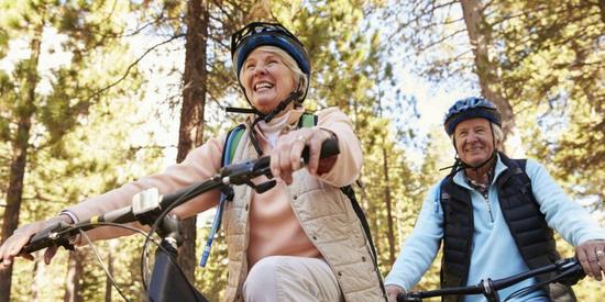 Par på sykkel